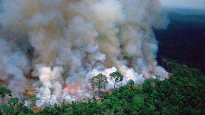 Bolsonaro rechaza los 20 millones de euros del G7 para combatir el fuego en el Amazonas