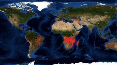 Hay más incendios en Áfirca que en el Amazonas
