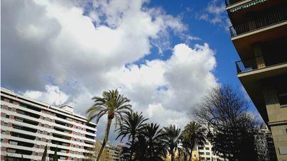 Jueves nuboso y con temperaturas estables