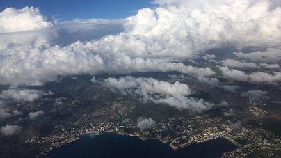 Viernes nubosos y con probabilidad de chubascos en el interior de la isla