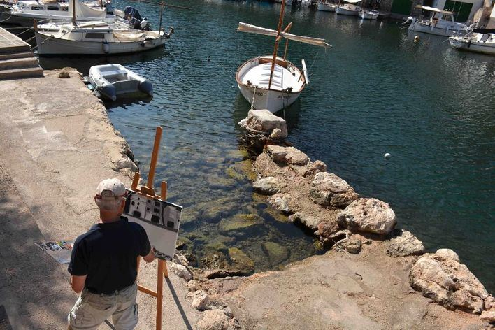 Santanyí celebra este fin de semana la 'XX Trobada de Pintors'