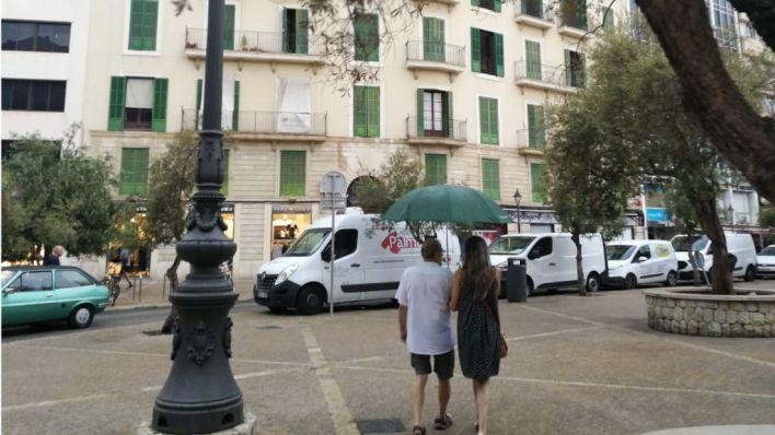 Agosto se despide de Mallorca con chubascos en Palma e interior