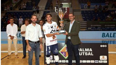 El Palma Futsal se presenta en casa con victoria