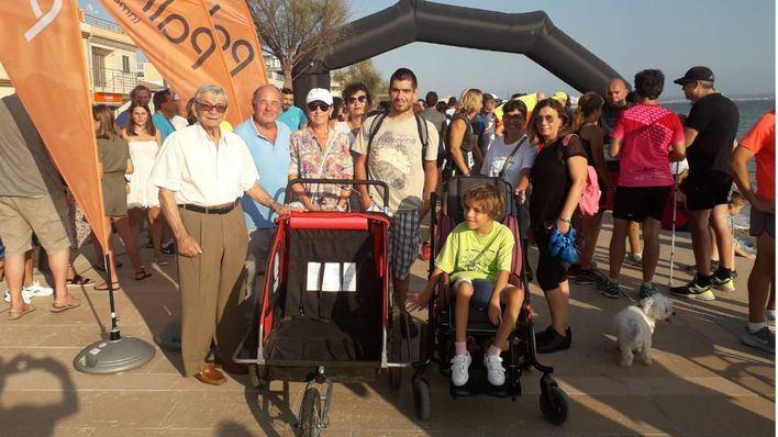 Éxito de participación en la carrera solidaria 'Un triciclo para Susana'