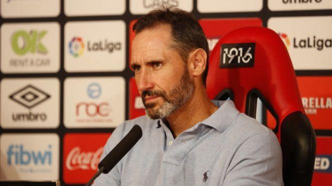 Vicente Moreno: 'Hemos jugado bien, pero eso no basta en Primera'