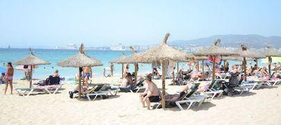 El gasto de los turistas extranjeros en Baleares sube un 1,8 por ciento en julio
