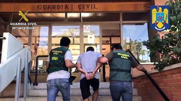 Detenido un violento rumano buscado en su país por asesinato