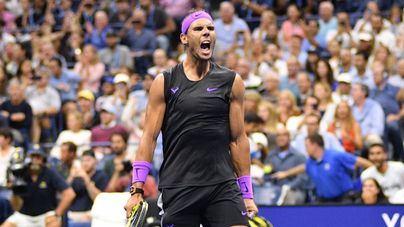 Nadal deslumbra y avanza a cuartos de final del US Open