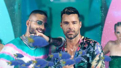 La colorida unión de Maluma y Ricky Martin