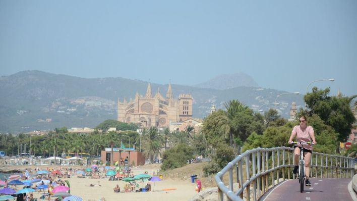 Miércoles despejado con temperaturas máximas de 31 grados en Palma