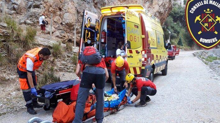 Rescatan a una escaladora de 30 años en el Gorg Blau
