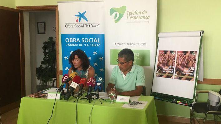El Teléfono de la Esperanza de Baleares atiende 647 llamadas entre enero y julio