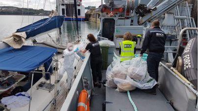 La Policía intercepta en Gales un velero alquilado en Mallorca con una tonelada de cocaína