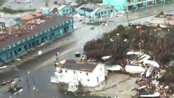 Ya son 20 los fallecidos en Bahamas por el huracán Dorian
