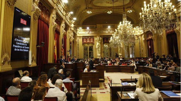 Gestión económica y financiación de Baleares centrarán el primer pleno del Parlament