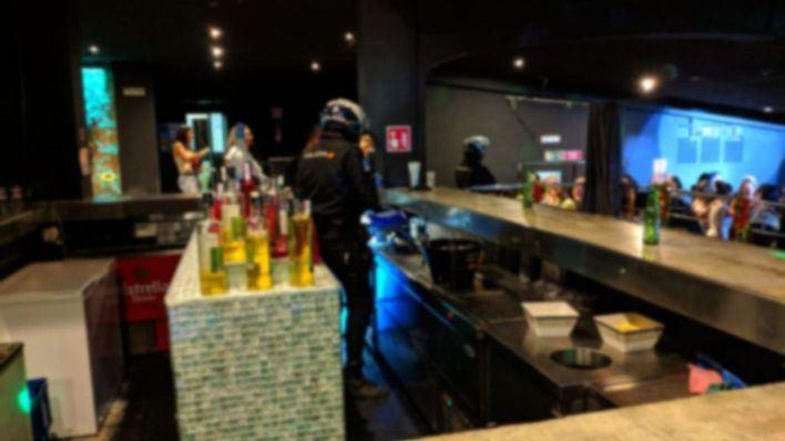 La Policía Nacional levanta 10 actas por drogas y detiene a 4 personas en Playa de Palma