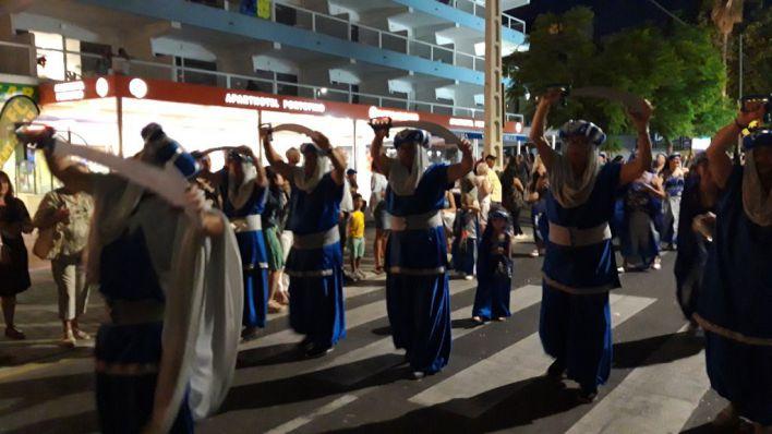 Más de 1.500 personas participan en el desfile de las 'Festes del Rei en Jaume' en Calvià