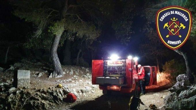 Rescatan a dos escaladores 'agotados' en Sa Gubia (Bunyola)