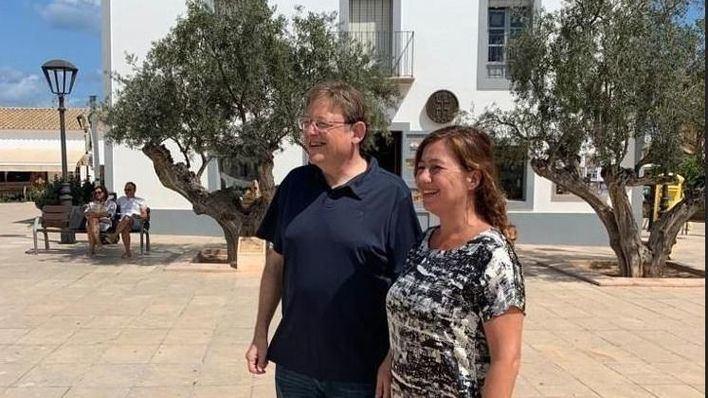 Armengol y Puig exigen al Gobierno 'una fórmula' para financiar a las comunidades