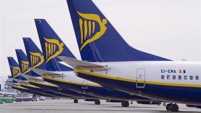 Normalidad en la cuarta jornada de huelga de tripulantes de cabina de Ryanair