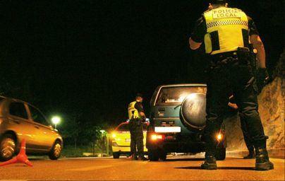 Detectan dos alcoholemias positivas en un servicio nocturno de la Policía de Ibiza