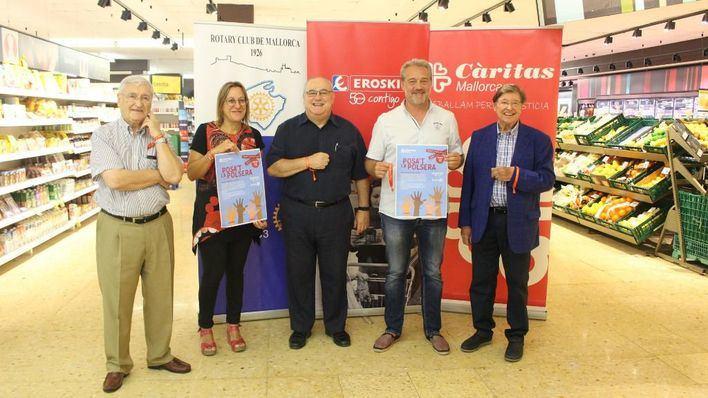 Eroski lanza una nueva campaña solidaria con Càritas para ayudar a los más desfavorecidos de Mallorca