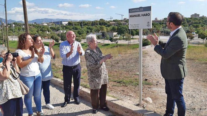 Palma dedica un paseo al Padre Manolo