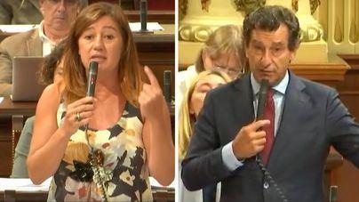 """Company a Armengol: """"La única culpable de que se produzcan recortes en Baleares es usted"""""""