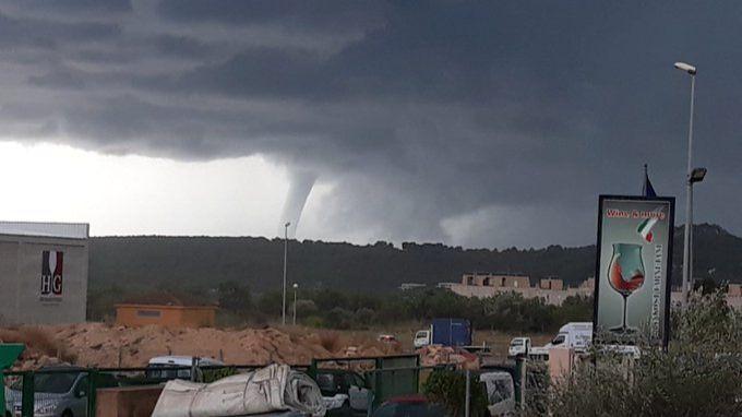La gota fría llega a Mallorca con tormentas y cap de fibló