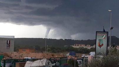 Mallorca continúa en alerta naranja por lluvias y tormentas