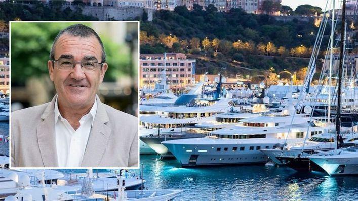 Yllanes, en Mónaco y entre yates de lujo