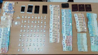 Tres detenidos en Palma por tráfico de drogas