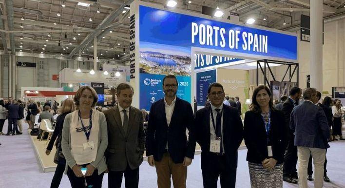 El Govern explica en la feria de Hamburgo su plan para limitar la llegada de cruceros a Baleares
