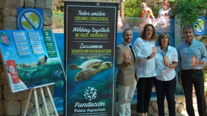 BH Hotels donará a Fundación Palma Aquarium la mitad del ingreso por la venta de vasos reutilizables