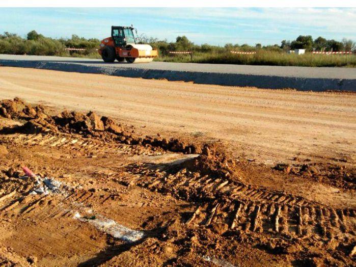 El Consell asegura que las escorias de la autopista de Campos son inocuas para el medio ambiente
