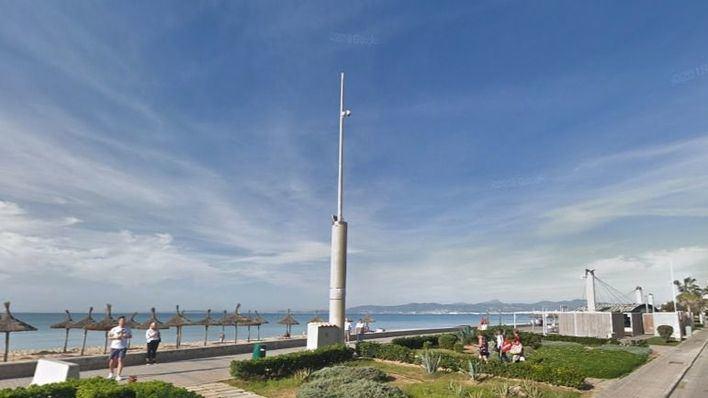 Vox denuncia que las cámaras de seguridad de Playa de Palma llevan dos años sin funcionar