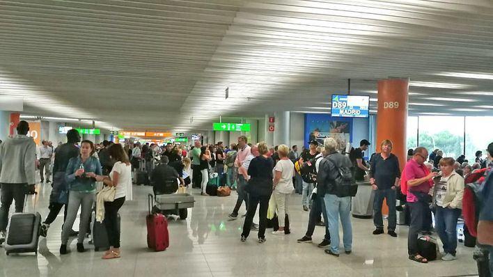 La lluvias obligan a desviar más de 20 vuelos con destino Palma