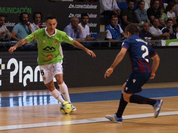 El Palma Futsal pierde 1-2 contra el Levante en su estreno de temporada en Son Moix