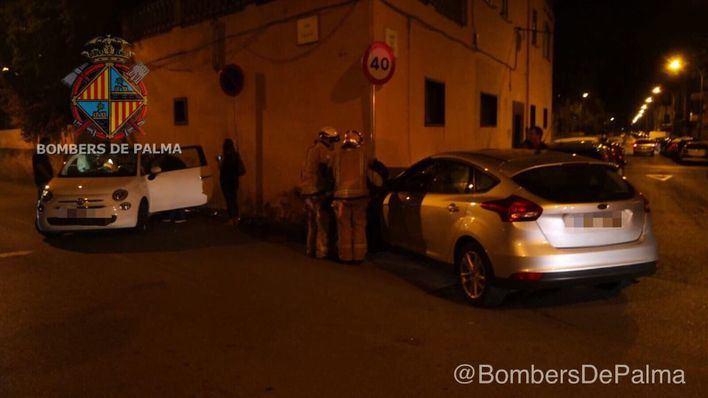 Dos accidentes de tráfico dejan varios heridos en Palma