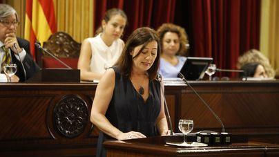 Armengol comparecerá en el Parlament para abordar la necesidad de financiación