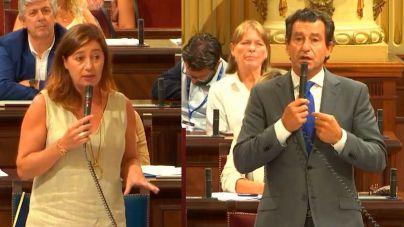 Company a Armengol: 'Sánchez le maltrata política y presupuestariamente'