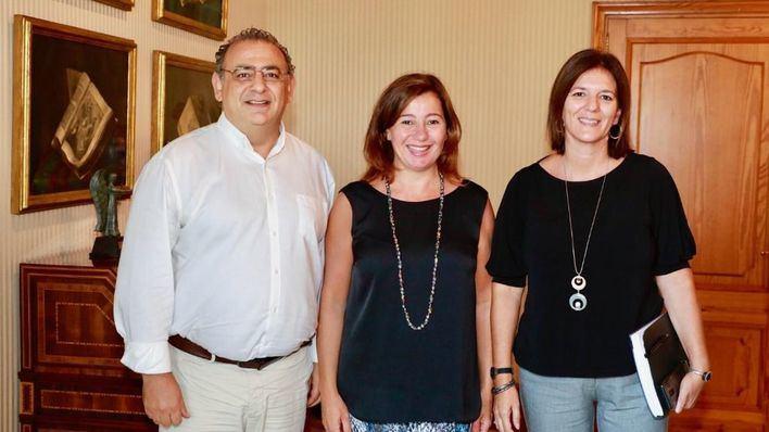 El alcalde de Calvià se reúne con Armengol para hablar de vivienda, movilidad y turismo