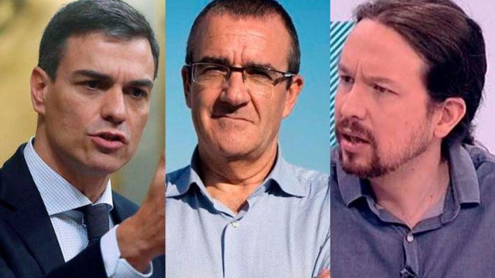 Yllanes plantea estudiar el relevo de Pablo Iglesias y Pedro Sánchez