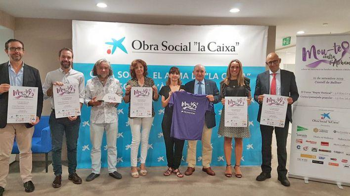 """Palma realiza el """"reto vertical"""" y una caminata popular por el Alzhéimer"""