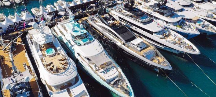 Baleares se promociona en la Mónaco Yacht Show como destino para superyates a nivel internacional