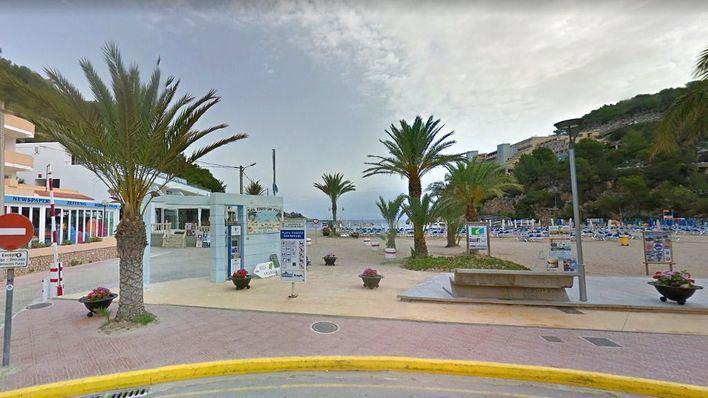 Hallado un cadáver en el puerto de Sant Miquel en Ibiza
