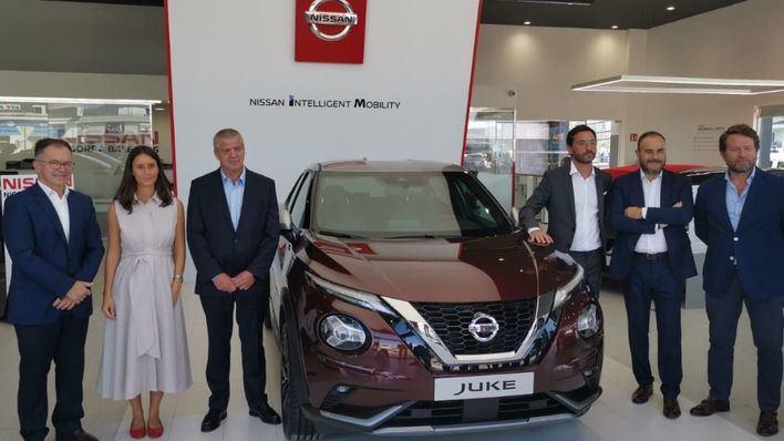 Nissan elige Ibiza para la presentación del nuevo modelo del Nissan Juke