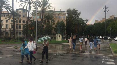 El verano se despide con lluvias y tormentas y un