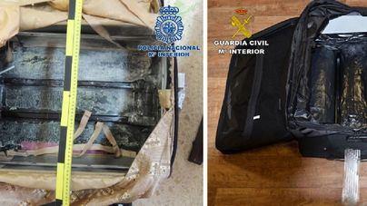 """Caen dos organizaciones que introducían heroína en España a través de """"maleteros"""" o """"drivers"""""""