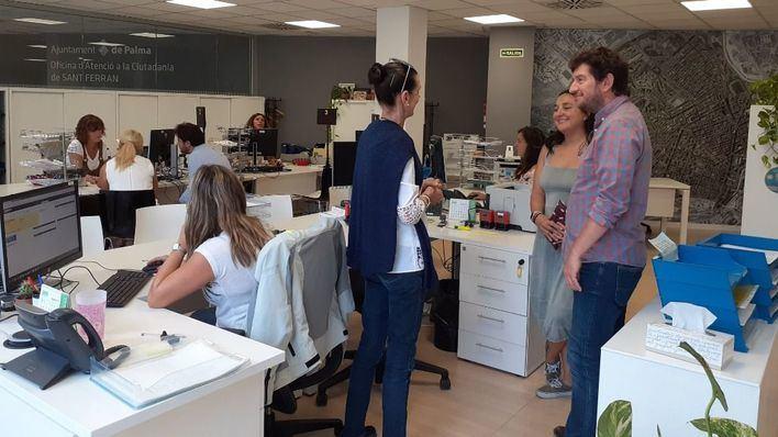 Finalizan las obras en la Oficina de Atención al Ciudadano de Sant Ferran